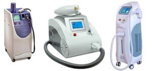 maquins de eliminacion laser